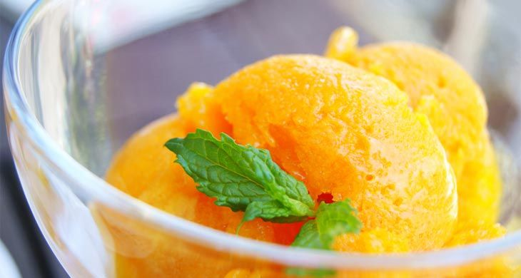 Mandarin Sorbet
