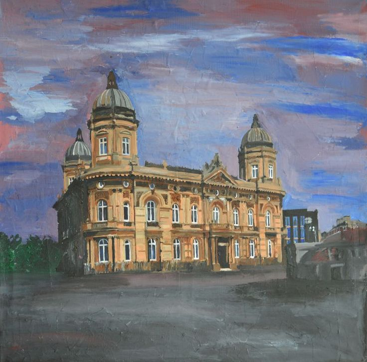 Hull Dock Offices by andrewreidwildman