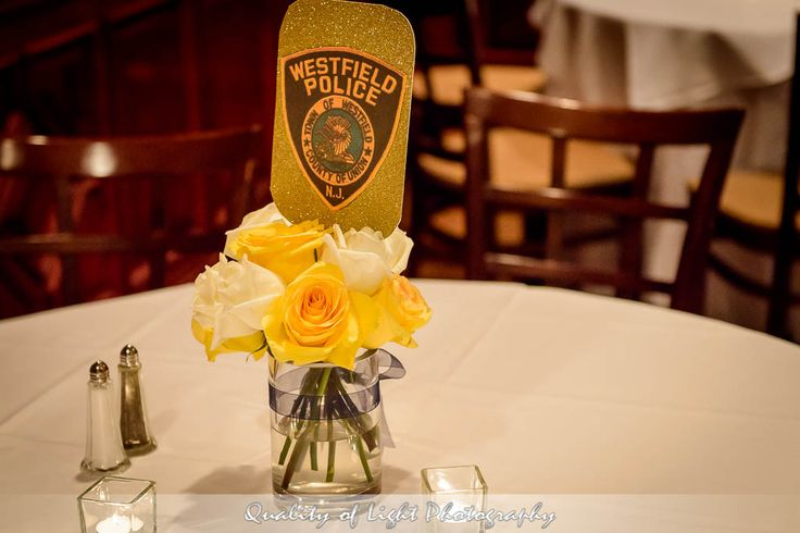Police Academy Graduation Party Centerpieces