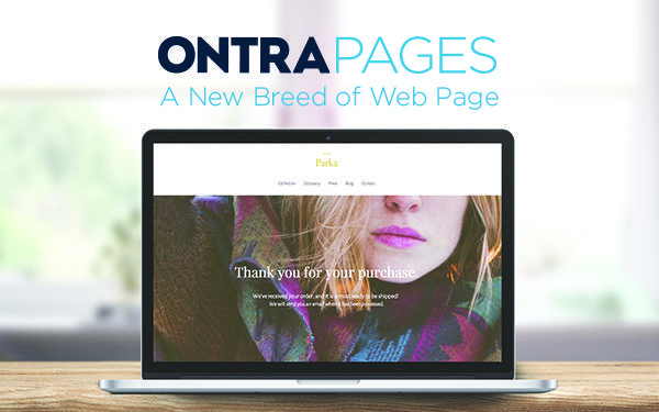 Create free landing pages with ONTRApages, the best web page builder for marketers, small business owners, and entrepreneurs.