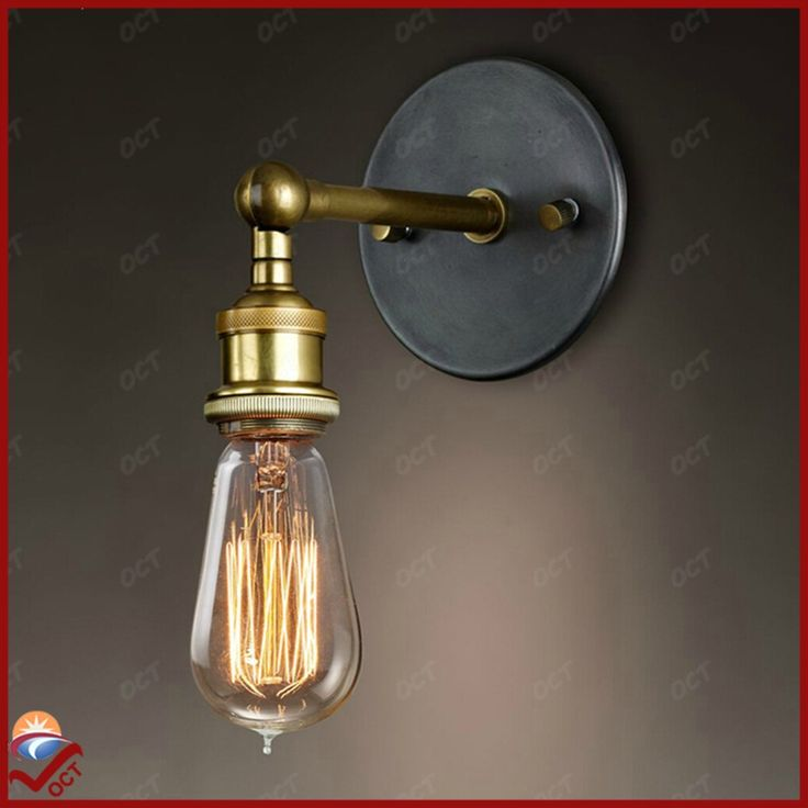 110V 220V Retro Vintage LED Edision Bedroom Wall Light Plated Iron Bathroom Wall Lamp Loft Wall Sconce Apliques Pared Luminaria-in Wall Lamps from Lights & Lighting on Aliexpress.com | Alibaba Group