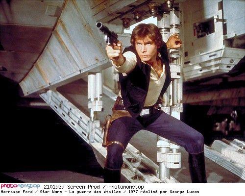 Harrison Ford / Star Wars - La guerre des étoiles / 1977 réalisé par George Lucas