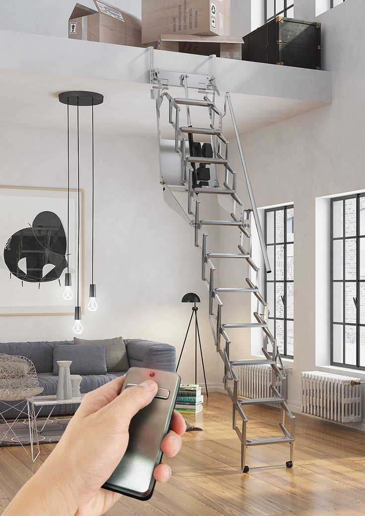 M s de 20 ideas incre bles sobre escaleras plegables en - Escalera plegable altillo ...
