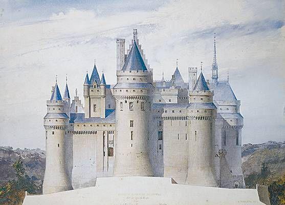 Eugène Viollet-le-Duc, le château de Pierrefonds