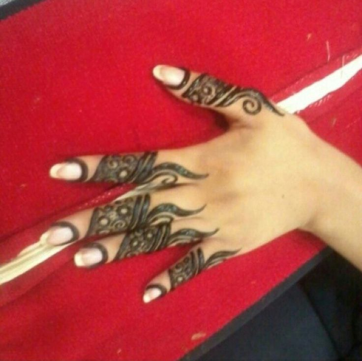 Mehndi Designs For Fingers Only : Only fingers design heena designs