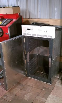 Diy powder coating oven build - One from freezer gutting and another from dual oven mod