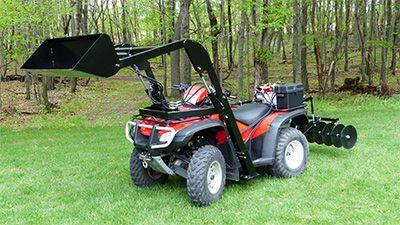 Four Wheeler ATV Hydraulic Attachments