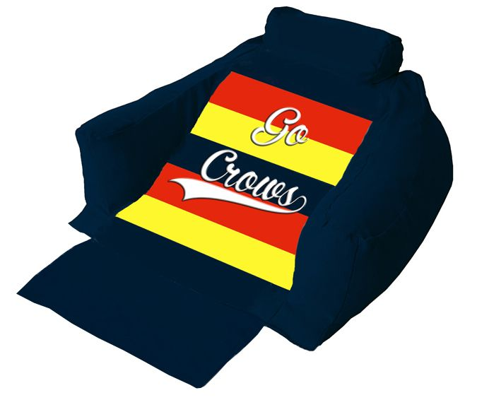 Crows set for Saturday Night Final  Sit back and relax in comfort on your very own personalised Wedg-eze Lounger while watching Adelaide taking Western Bulldogs in an Elimination Final at the MCG on Saturday.  #crowsvsbulldogs #AFL #wedgeze #eliminationfinal