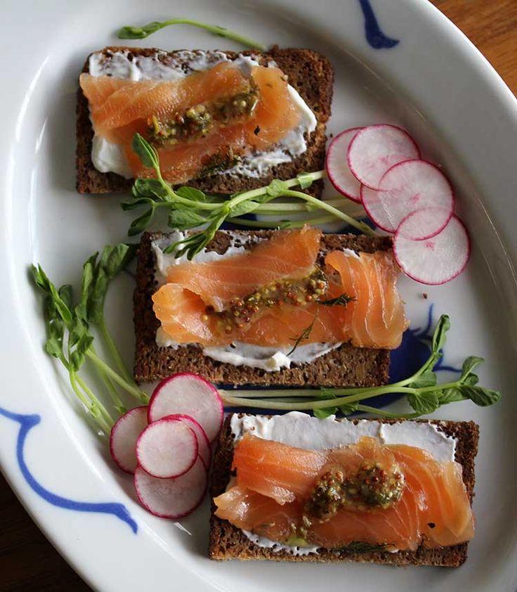 Gravlax -- Norwegian Cured Salmon   Recipe   Flaxseed ...