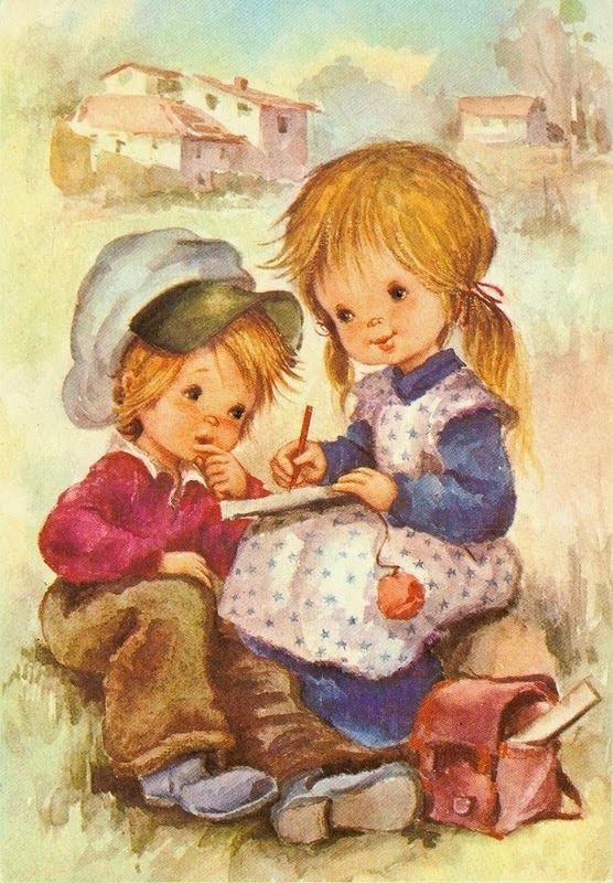 Картинки и открытки с изображением детей, смешные