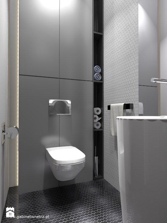 Łazienka styl Nowoczesny - zdjęcie od Gabinet Wnętrz - Recepta na dobre wnętrze