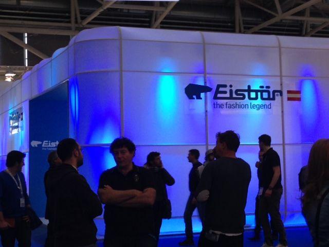 ISPO 2015 Eisbär - Cool booth!