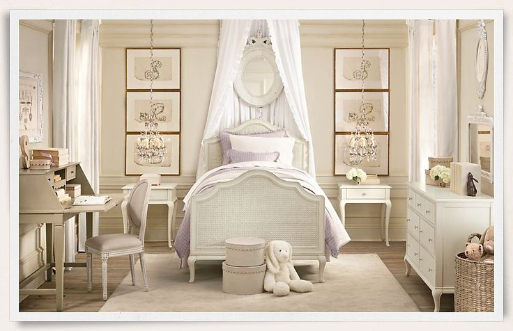 such a great little girls room