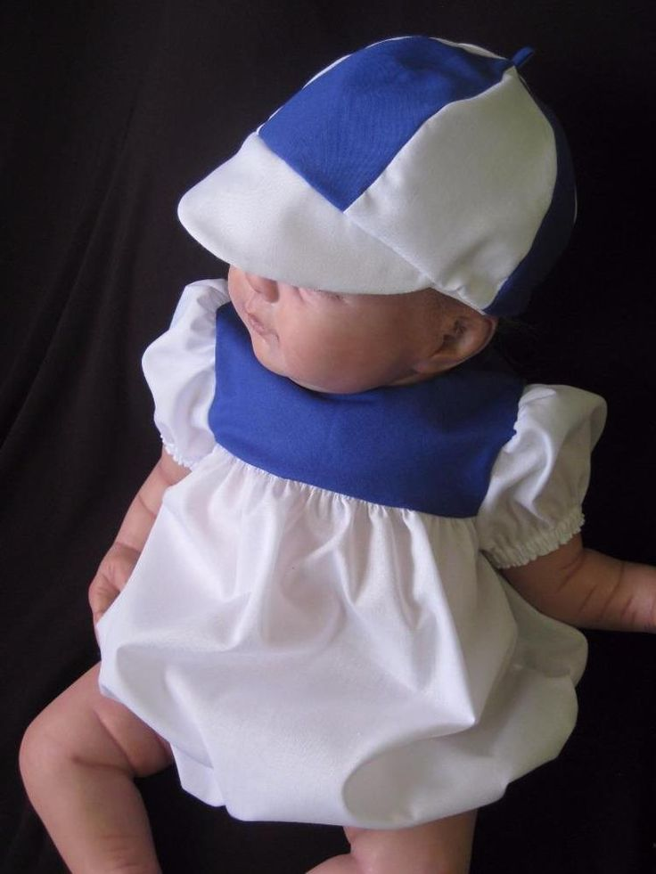 ROMPER-CAP - Fits 20-22 inch Reborn Doll - Hand Made clothing