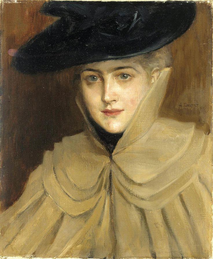 Retrato de una joven,1891