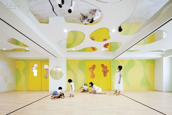 Four spaces that aim to create stimulating and engaging environments for children: 1. Firm: Moriyuki Ochiai Architects Project:Toho World Preschool ...