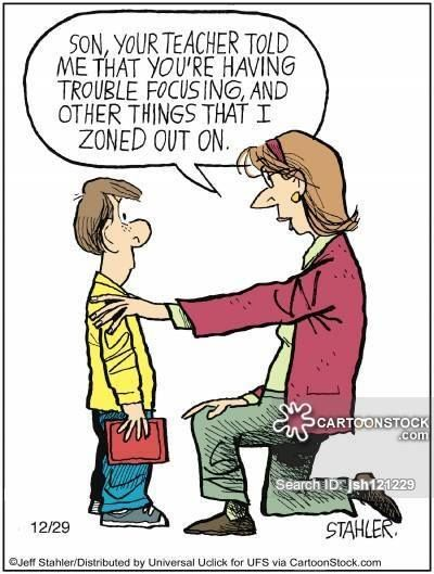 How I was and am and my daughter... now an adult ADHD