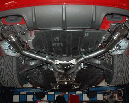 Mercedes C Class Mercedes-Benz C Class Agency Power Catback Exhaust System with Hardware & Remote - AP-C63-170