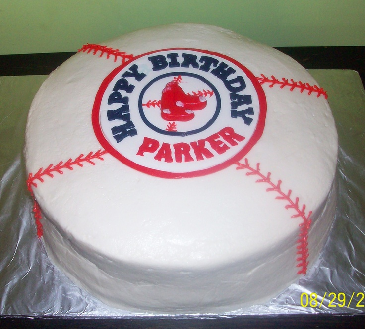 25+ Best Ideas About Red Sox Cake On Pinterest