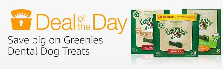 Huge Sale on Greenies Dog Treats Today Only!! Over 60% OFF!