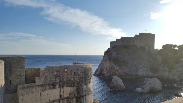 Game of thrones filming location in Dubrovnik, Croatia