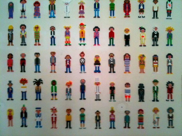 Perleplade-mennesker by Kirstine Kirk  - http://kirstinestingfinder.blogspot.de/2012/10/godt-perleplade-mennesker-det-gode-ved.html