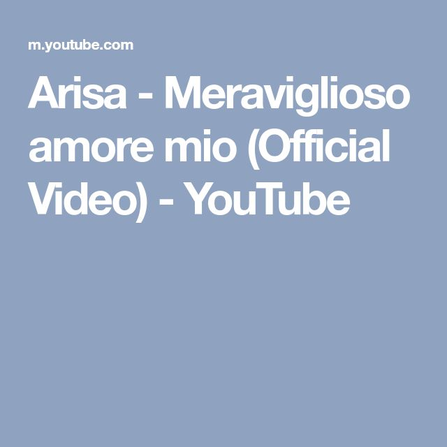 Best Amore Mio Ideas On Pinterest Cartas Bonitas Te Amo - Mio decalsmioonepiece youtube