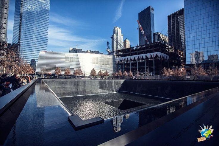 Mémorial du 11 septembre #emotion #newyork #usa
