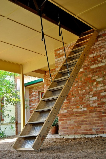 68 Best Images About Attic Stairs For Old Houses On