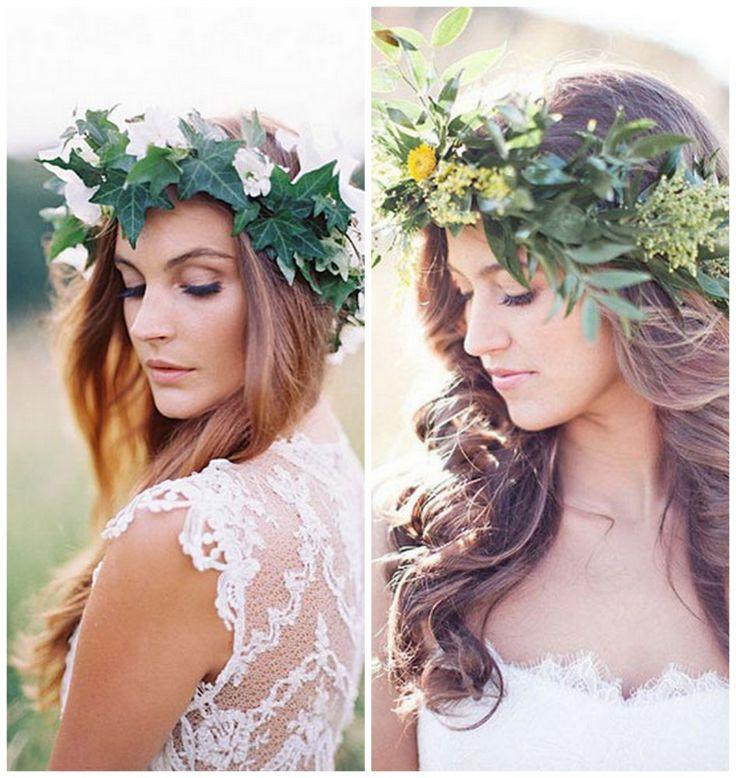 Greenery   De mooiste bruidskapsels van deze herfst