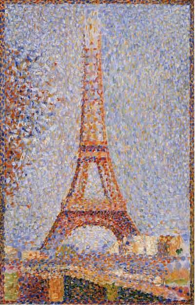 Georges Seurat, La Tour Eiffel, 1889. Olio su tela, San Francisco, Fine Arts Museums