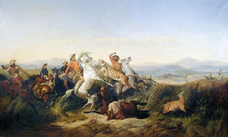 The Hunt - Raden Saleh