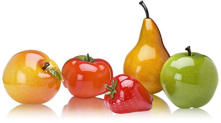 146 Best Glass Fruits Vegetables Images On Pinterest