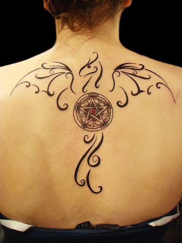 What Is A Pagan Wiccan | Pin Pentacle Tattoos Black Pagan Wiccan Wicca Tattoo on Pinterest