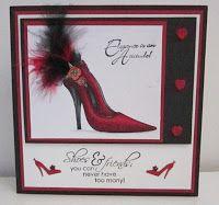 byRob: June Copic Class. Elegance is a attitude shoe card...
