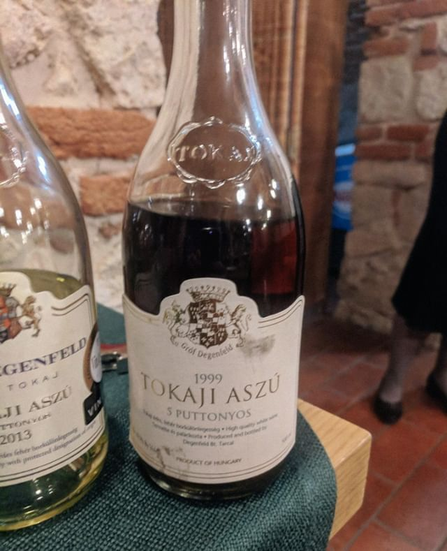 Last But Not Least At The Castle Hotel Grof Degenfeld Tasting Was