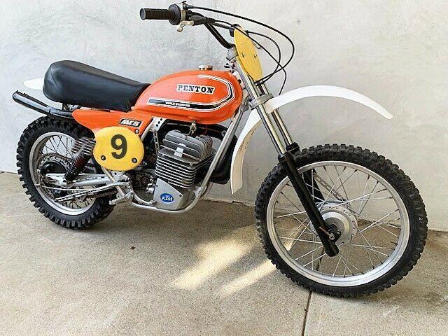 1977 Penton Mc5 Ktm 400 Enduro Trail Motorcycle For Sale Via Rocker Rocker Co In 2020 Vintage Motorcycles For Sale Ktm Brat Bike