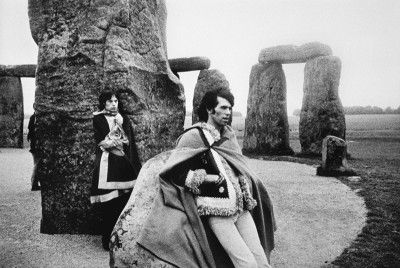 Mick Jagger and Richards at Stonehenge