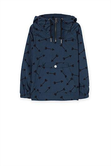 Arrow Popover Jacket
