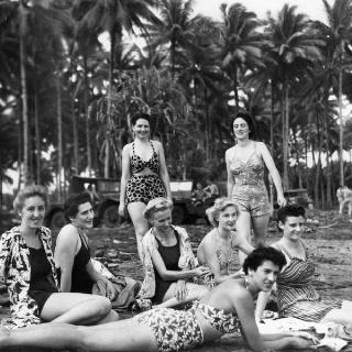 World War 2 nurses in the Pacific ~