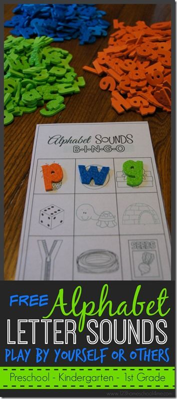 Alphabet sounds bingo! A fun and educational way to work on the beginning sound of words!