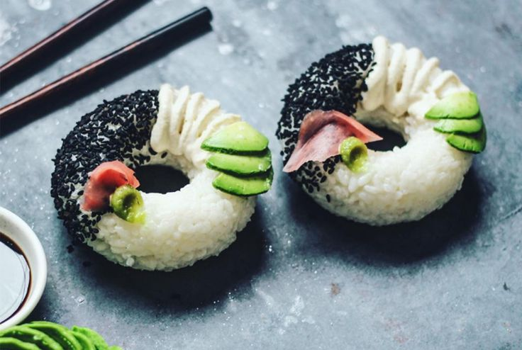 Sushi Donuts are the Latest Bizarre Food Trend Taking Over Instagram