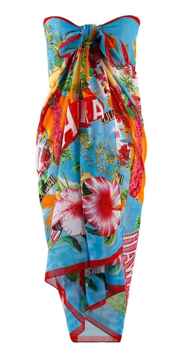 Always For Me Aloha Plus Size Pareo