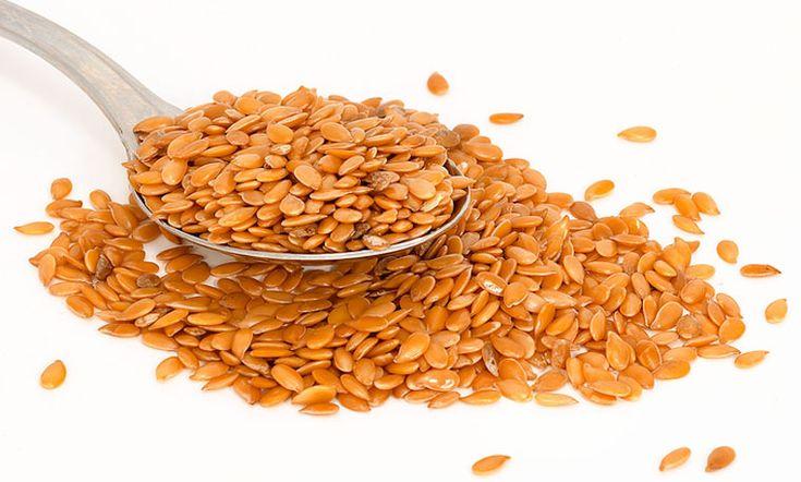Семена льна богаты минералами и витаминами. Она очищает организма от шлаков и токсинов.
