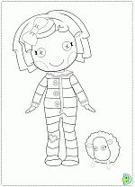 17 Best images about Coloriages Lalaloopsy on Pinterest