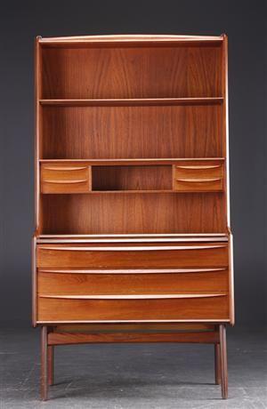 Teak Bookcase | Mid Century Modern