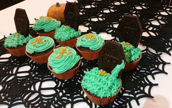 Halloween Cupcacke Tombs Halloween tombe Cupcake