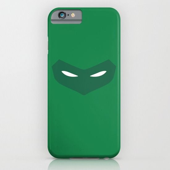 Green Lantern (Hal Jordan) minimalist mask design.  #greenlantern #iphone #case #phonecase #minimalistheroes #society6 #DCcomics #DC #comcis