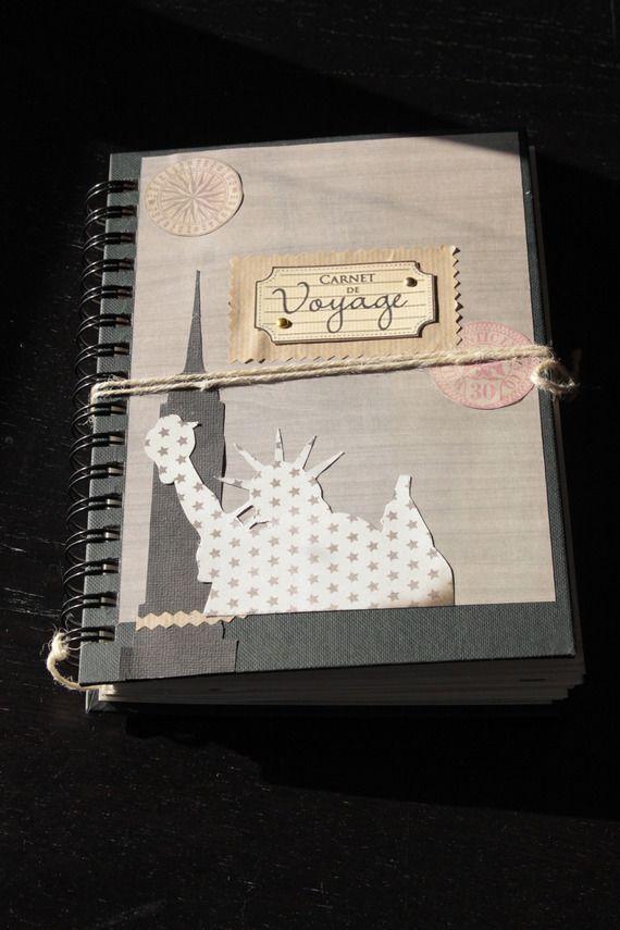 Carnet de voyage, notes, croquis thème  New York décoré et personnalisé