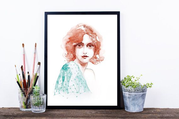 Instant download/ printable wall art/ by WatercolorprintByOli
